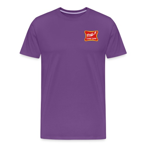 Port A Low Life Logo - Men's Premium T-Shirt