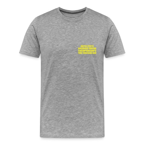 2009 pocket yellow png - Men's Premium T-Shirt