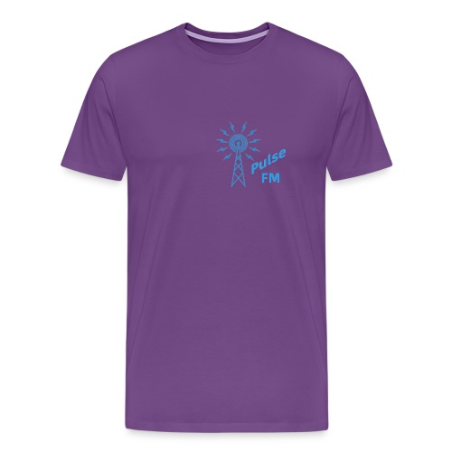 Pulse FM png - Men's Premium T-Shirt