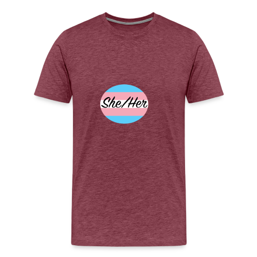 She/Her - Men's Premium T-Shirt