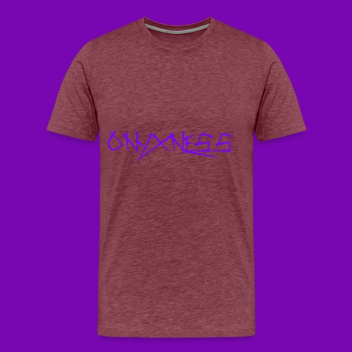 OnyxNess (Purple) - Men's Premium T-Shirt