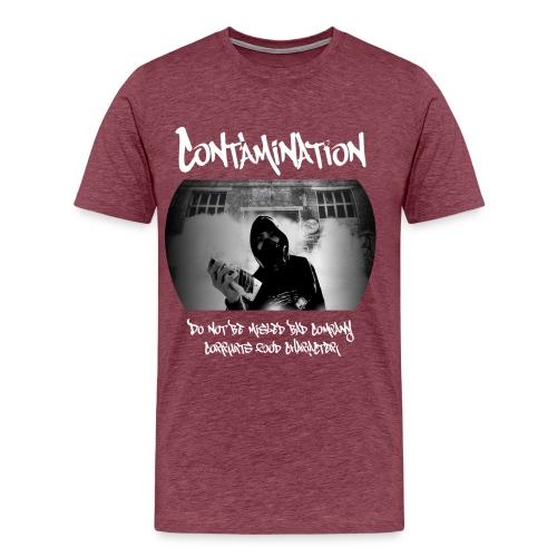 contamination front - Men's Premium T-Shirt