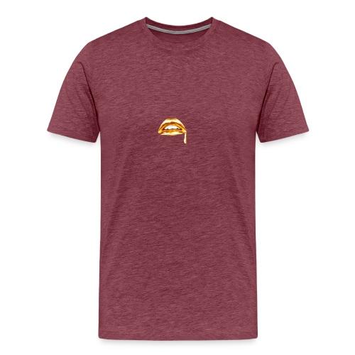 Gold Mouth Drip - Men's Premium T-Shirt