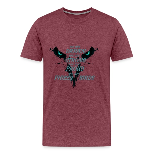 we are philly birds2 - Men's Premium T-Shirt