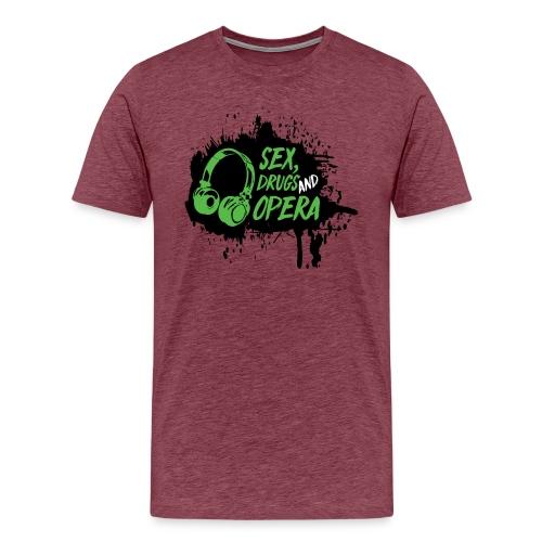 SDAO Alternative Logo - Men's Premium T-Shirt