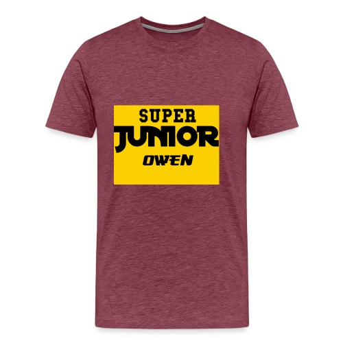 SJO Big DF text - Men's Premium T-Shirt