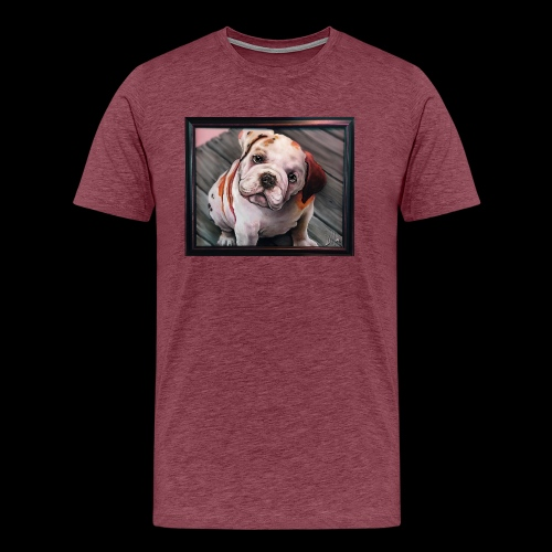 Esoteric Designs ~ Bulldog. Bull dog. - Men's Premium T-Shirt