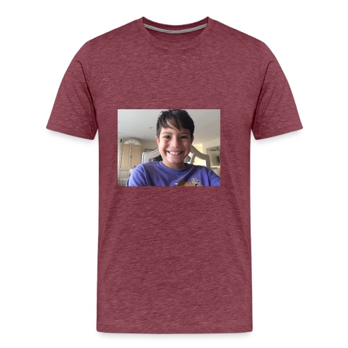 OwenGamer513 the smile is real - Men's Premium T-Shirt