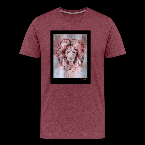 Esoteric Designs ~ Lion - Men's Premium T-Shirt