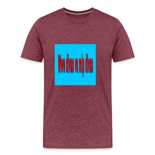 FDBC0EED EA9A 4C14 AE43 AA10140470BC - Men's Premium T-Shirt