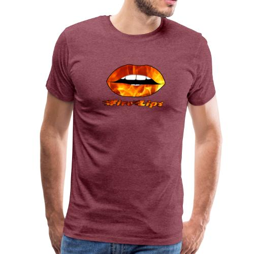 Fire Lips - Men's Premium T-Shirt