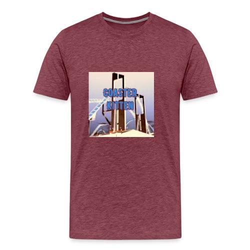 Coaster Kitten Merch - Men's Premium T-Shirt