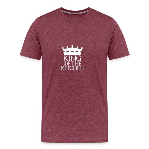 King of the Kitchen - Men's Premium T-Shirt