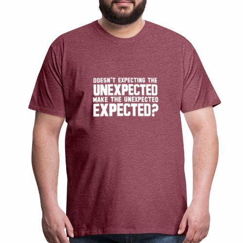 The Unexpected - Men's Premium T-Shirt