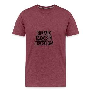 Read More Books - Men's Premium T-Shirt