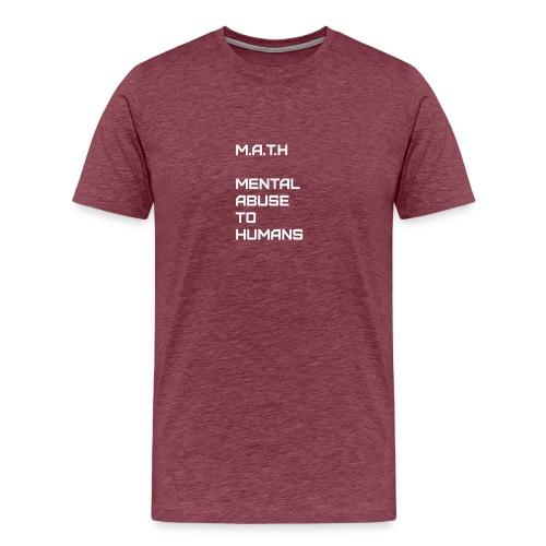 Math Alt - Men's Premium T-Shirt