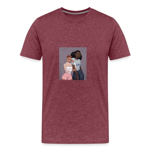 Blaque Luv - Men's Premium T-Shirt