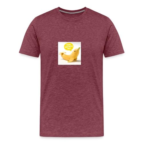 Banana dolphin - Men's Premium T-Shirt