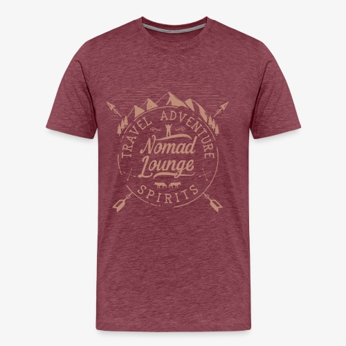 Nomad Spirits (Dark) - Men's Premium T-Shirt