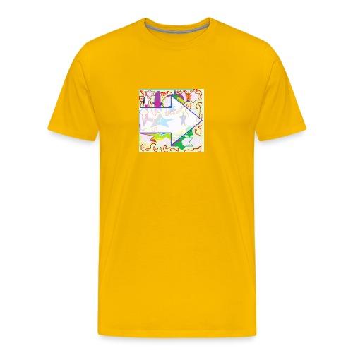 shapes - Men's Premium T-Shirt