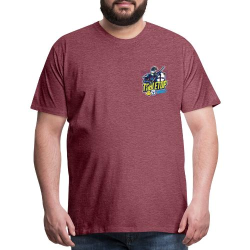 Tabletop Knights Small Logo - Men's Premium T-Shirt