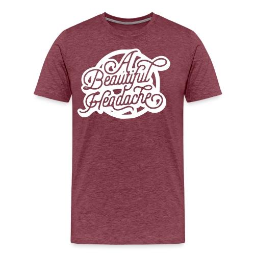 a beautiful headache - Men's Premium T-Shirt