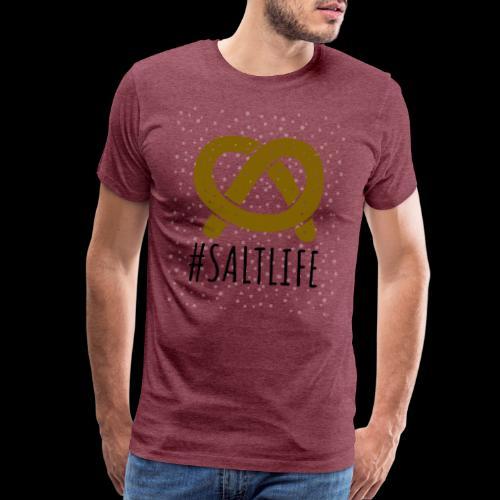#SaltLife | Pretzel - Men's Premium T-Shirt