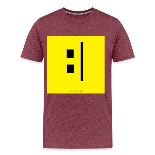 Vinyl Road Logo Final jpg - Men's Premium T-Shirt