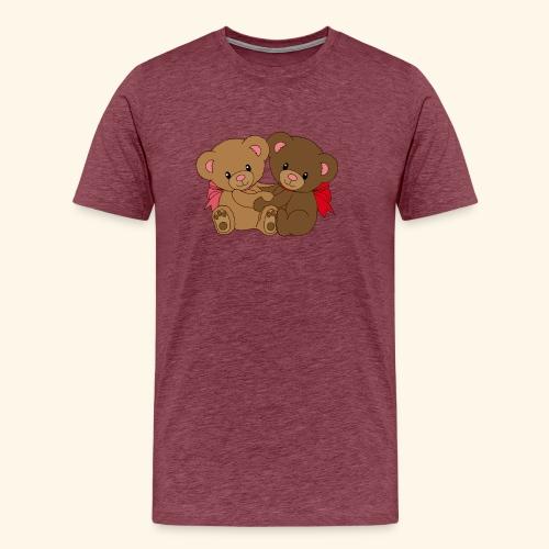 Bears Hugging - Men's Premium T-Shirt