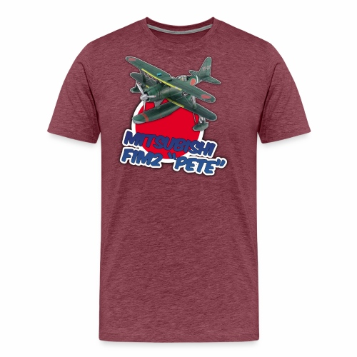 Imperial Japanese Navy F1M2 PETE seaplane - Men's Premium T-Shirt