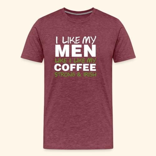 Funny Coffee T Shirts for Men, Women, Kids, Babies - Men's Premium T-Shirt