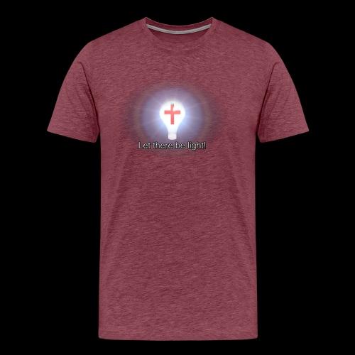 Let There Be Light - Men's Premium T-Shirt
