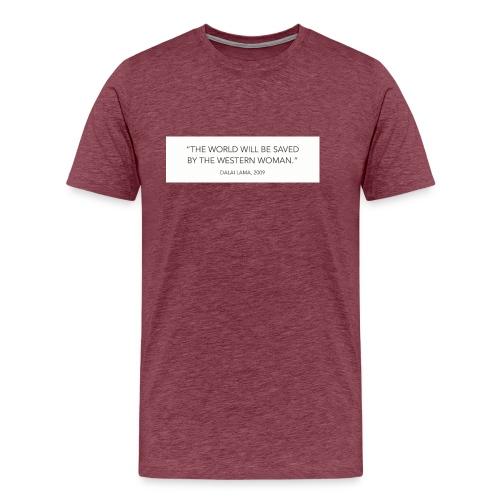 dalailamaquote - Men's Premium T-Shirt