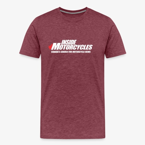 Inside Motorcycle - White - Men's Premium T-Shirt