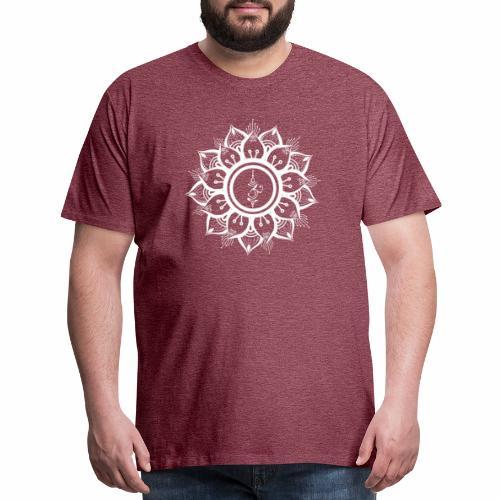 White Mandala - Men's Premium T-Shirt