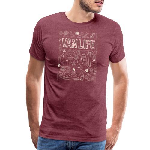 Canadian Vanlife - Men's Premium T-Shirt