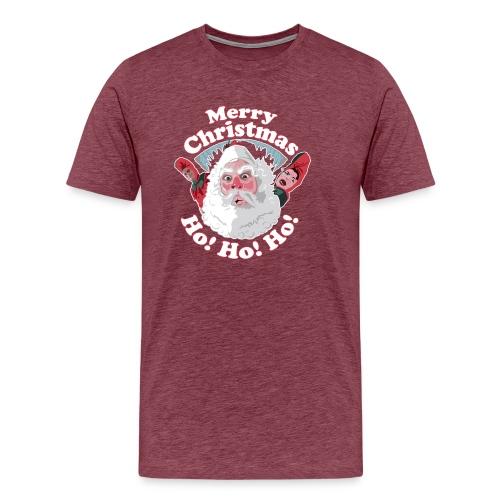 Merry Christmas...Ho! Ho! Ho! A Great Christmas - Men's Premium T-Shirt