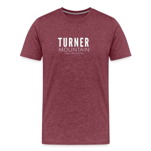 Turner Mountain - Men's Premium T-Shirt