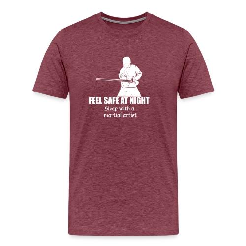 Feel safe male LS - Men's Premium T-Shirt