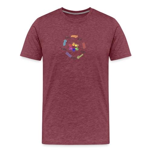 Let's Put Our Kids First - Men's Premium T-Shirt
