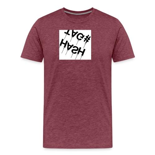 Hash tag T - Men's Premium T-Shirt
