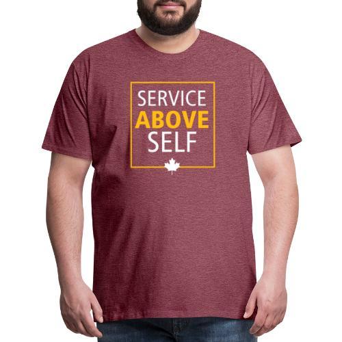 Service Above Self - Men's Premium T-Shirt