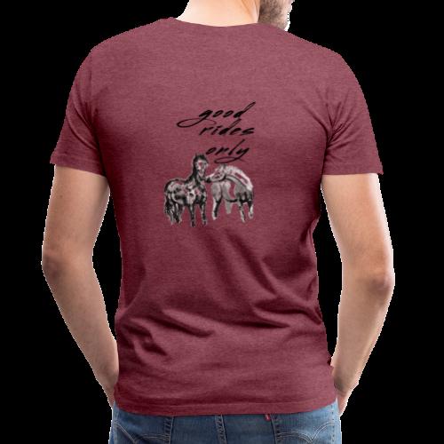 Good Rides Only - Men's Premium T-Shirt
