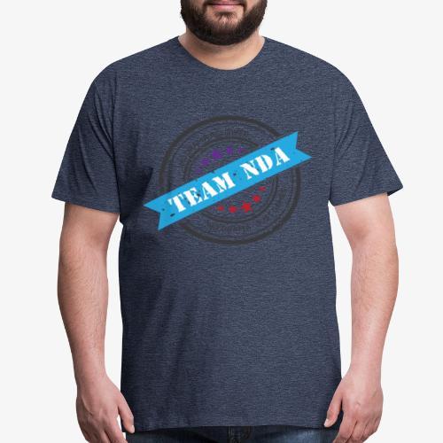 TeamNDA_Black - Men's Premium T-Shirt