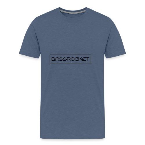 bassrocket black - Men's Premium T-Shirt