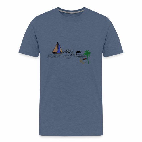 bech - Men's Premium T-Shirt