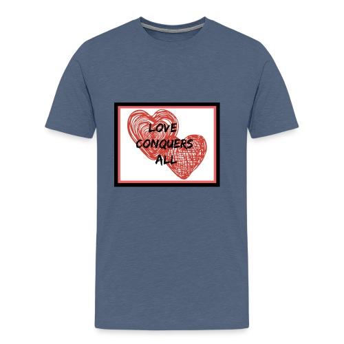 Love Conquers All - Men's Premium T-Shirt