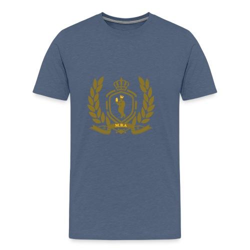 Conscious King (Crest) - Men's Premium T-Shirt