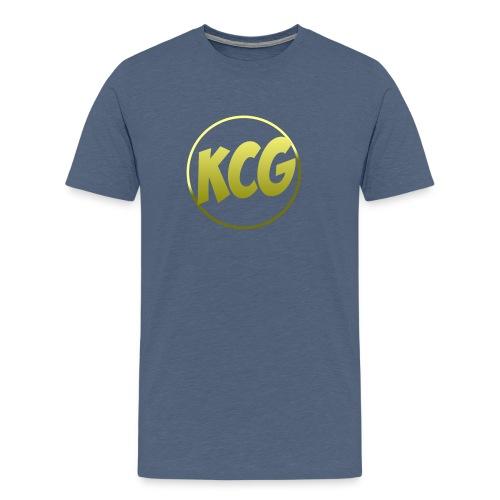 KingCyrus logo - Men's Premium T-Shirt