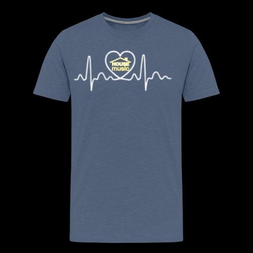 House Music Pulse! - Men's Premium T-Shirt